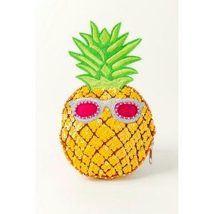 Shirdee Pineapple Beaded Coin Pouch